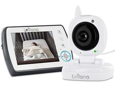 Levana Ayden Digital Video Baby Monitor with Night Vision Camera, Temperature Monitoring, Talk to Baby Two-way Intercom and Zoom Baby Necessities, Intercom, Baby Monitor, Baby Needs, Night Vision, Baby Boy, Digital, Color