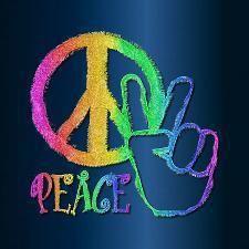 #P-E-A-C-E Hand✌Peace Sign & ✌Peace Sign #cRainbow