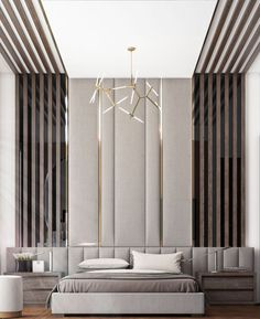 32 Fabulous Modern Minimalist Bedroom You Have To See - Everywhere you look you find things are being updated. The best way to start modernizing in your life is to have a modern bedroom. Modern Luxury Bedroom, Modern Minimalist Bedroom, Luxury Bedroom Design, Master Bedroom Interior, Bedroom Bed Design, Modern Bedroom Decor, Luxurious Bedrooms, Interior Design, Bedroom Ideas