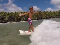 Kai Kai, 5, is a surfing prodigy with good genes  - GrindTV.com