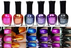 6 PCS New Kleancolor FULL SIZE METALLIC LOT $8.95 (Free Shipping)