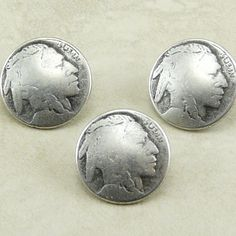 Indian Head Nickel Coin Button Buttons in by artisticrenderings (Craft Supplies & Tools, Sewing & Needlecraft Supplies, Buttons & Fasteners, Indian Head, Nickel, Button, Art, Collage, Mixed Media, Bead, Clasp, Jewelry, Focal Piece, Bracelet, Sewing, coin)