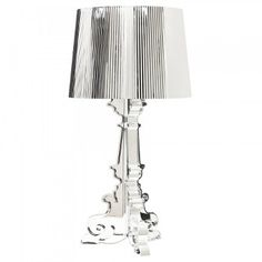 Bourgie Lamp - Clear