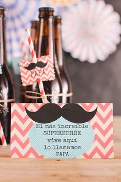 kit de fiesta imprimible para el dia del padre father's day printable