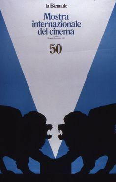 Manifesto Festival del Cinema di Venezia 1982