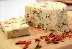 домашний сыр с паприкой