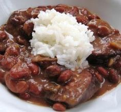 "Emeril's Red Beans & Rice: ""Outstanding! These beans are as good, if not better, than ones I've had in the French Quarter. I made them for a Big Easy Super Bowl party and everybody raved and went back for seconds!""  -fancy-pants"