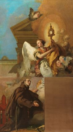 Visión de San Pascual Bailón // 1767-1769 // Giambattista Tiepolo