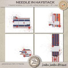 Needle in haystack by Jimbo Jambo Designs