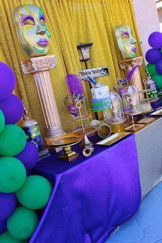 Mardi Gras Birthday Party Ideas