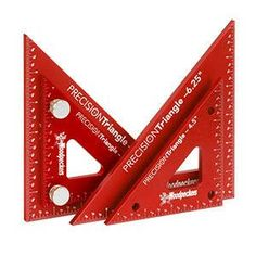 "Woodpeckers Precision Triangle Set 4"" & 6"""