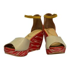 7d54b8d9470 ALICIA Dreamweaver - T Nalak Covered Wedge Sandals