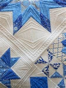 ... quilting lines or draw them on with a quilting marker to eliminate the