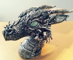 MakoslaCreations - dragon head