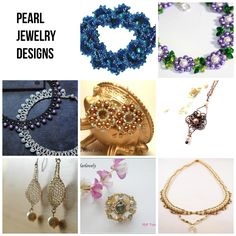 Stop thinking of pearls as a fancy piece of jewelry. Incorporate them into any occasion using these pearl jewelry designs for inspiration.