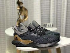 Really Cheap Adidas AlphaBounce HPC AMS 3M Black Grey Shoe 07a2c7b6be82