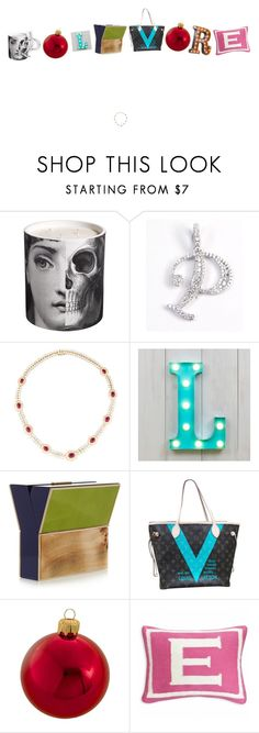 Polyvore! by kohlanndesigns on Polyvore featuring interior, interiors, interior design, home, home decor, interior decorating, Jonathan Adler, Kurt Adler, Fornasetti and Louis Vuitton