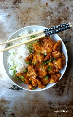 Spicy Korean Chicken Make without putting chicken in batter. Use more for sauce recipe!