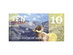 Graphic Design Class Assignment Inspiration: US Currency Redesign by Kristina Johnsen, via Behance