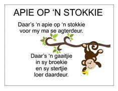 Afrikaans Is Maklik Preschool Poems, Kids Poems, Preschool Classroom, Preschool Worksheets, Preschool Learning, Preschool Activities, Quotes Dream, Life Quotes Love, Robert Kiyosaki