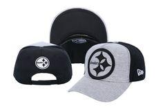 Pittsburgh Steelers Snapback NFL Snapbacks Baseball Caps New Era Gray Black  028 1882e82e1a51