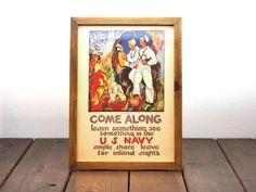 ビンテージ ポスター A4サイズ(複製) - 1919 Come Along-