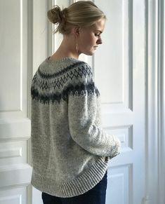 Ravelry: Sirius pattern by Camilla Vad One Piece Top, Fair Isles, Fair Isle Knitting, Sweater Knitting Patterns, Poncho Sweater, Camilla, Ravelry, Knit Crochet, Knitwear