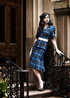 MacRae Tartan Jacket and Skirt.