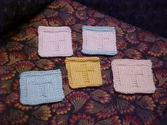 Welcome to Simply Jean's: Cross Pocket Prayer Cloth (Knitted)