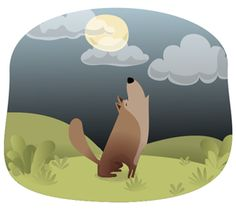 Howling wolf One Man Wolf Pack, Wolf Howling, Poster Prints, Posters, Storytelling, Doodles, Animal Illustrations, Cute, Animals