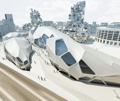 Futuristic Architecture, Nympha Cultural Center