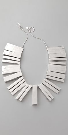 modernist necklace by noir jewelry