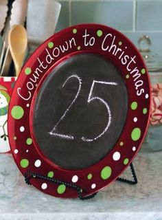 Michaels Christmas Countdown Charger Project