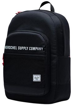 HERSCHEL SUPPLY CO Kaine Athletics 30L - Rucksack - Schwarz - Planet Sports Herschel Supply Co, Athletics, Planets, Backpacks, Sports, Bags, Fashion, Fashion Styles, Hs Sports