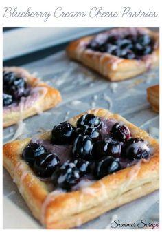 Blueberry Cream Cheese Pastries