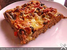 Hackfleischpizza ohne Teig, ein beliebtes Rezept aus der Kategorie Party. Bewertungen: 108. Durchschnitt: Ø 4,2.