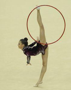 Jana Berezko-Marggrander Photo - FIG Rhythmic Gymnastics Olympic Qualification - LOCOG Test Event for London 2012: Day Three