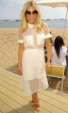 Mollie King Gives The Sheer Trend A Summer Makeover