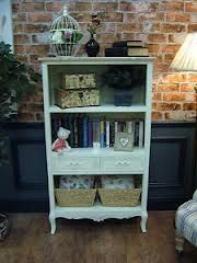 shabby chic office storage - Google Search