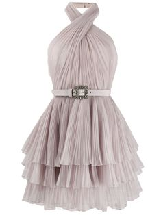 Alberta Ferretti Halterneck Tulle Mini Dress - Farfetch - Alberta Ferretti halterneck tulle mini dress – Neutrals Source by farfetch - Cute Dresses, Beautiful Dresses, Short Dresses, Dresses For Work, Prom Dresses, Formal Dresses, Elegant Dresses, Sexy Dresses, Dresses For Winter