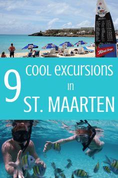 9 Cool Excursions in St. Maarten #StMaarten #excursions #cruiseexcursion #vacation #cruising #travel #caribbean #island #activities