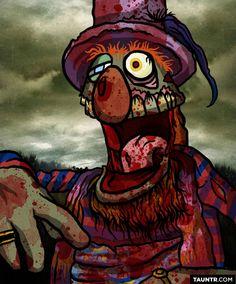 Versión zombie  muppet 2