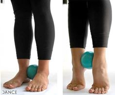 Exercises to strengthen your feet for dancers. Pinning to use with my ice skater.