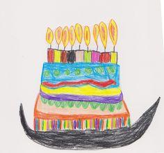 Szülinapi torta. Birthday cake.
