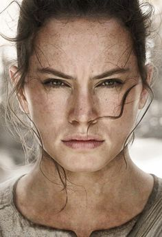 scificity:  I removed the Star Wars logo and staff from Rey's character poster. (Hi-res)http://scificity.tumblr.com