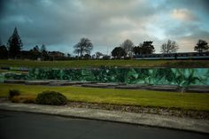 Graffiti mural by Askew, 2014