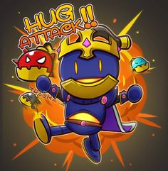 Paladins Chibi #4 Bomb king by Trauma-a