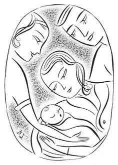 Midwife art