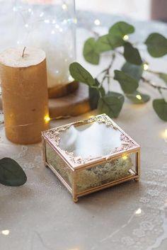 Rustykalne dekoracje na ślub- zestaw lampiony, pudełka na obrączki