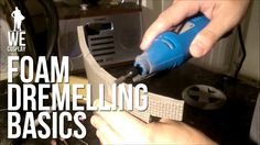 Foam Dremelling Basics for Building Cosplay Armour